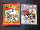 2 GASOLINE MEMORABILIA Books Texaco Collector's Guide Gas Station Memorabilia