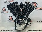 05 Harley Touring Road King FLHRSI Twin Cam 88 cc Injected Engine Motor 5010