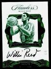 Willis Reed 2016 Flawless Greats Autograph Auto Emereald #1 5 (373)