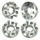 4x 15 Hubcentric Wheel Spacers Fits Jeep Wrangler JK JKU 5x127 38mm Adapters
