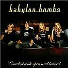 CRACKED WIDE OPEN&BRUISED, BABYLON BOMBS, Audio CD, New, FREE & FAST Delivery