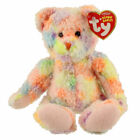 TY Beanie Baby - POOLSIDE the Ty-Dyed Bear (Internet Exclusive) (7.5 inch) MWMTs