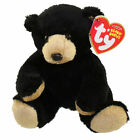 TY Beanie Baby - SNACKS the Black Bear (5 inch) - MWMTs Stuffed Animal Toy