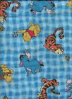 WINNIE THE POOH FABRIC NEW BY THE YARD EEYORE TIGGER PIGLET