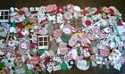 Die Cut Shapes 300+ lot CHRISTMAS scrapbook paper cardstock variety Sizzix