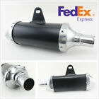 28mm Universal Exhaust Muffler Pipe For Motorcycle Dirt Bike ATV Quad 50cc 150cc