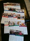 LOT OF 8 WEIGHT WATCHERS WEEKLY GUIDES WITH RECIPES