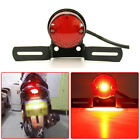USA Motorcycle Brake Stop Tail Light Mount For Harley Chopper Bobber Cafe Racer