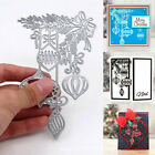 Christmas Bauble Metal Cutting Dies Stencil Xmas Scrapbook Card Embossing Craft
