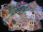 huge sticker lot 57 partial sheets packages