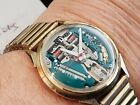 BULOVA ACCUTRON 1966 SPACEVIEW Watch Gold filled 214 Bulova shop find