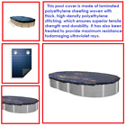 Above Ground Winter Protection Pool Cover Oval Swimming Swimline 30x15 ft Intex