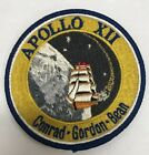Vintage Apollo 12 Mission Patch Lion Brothers Pre Hallmarked Version 4 NASA
