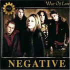 Negative - War of Love - Negative CD BWVG The Fast Free Shipping