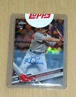 2017 Topps Chrome Update autograph auto Andrew Benintendi rookie
