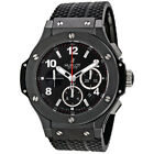 Pre-owned Hublot Big Bang Chronograph Automatic Black Dial PRE-HB301CX130RX