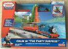 NEW Fisher-Price Thomas & Friends Trackmaster Motorized Railway Train Set Colin