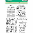 Penny Black Clear Stamps Faith