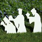 Teak Isle Christmas Outdoor 3 Wise Men Nativity Figures