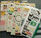 LOT Crate Paper Maggie Holmes Bloom Paper  Embellishment Lot