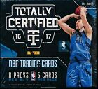2016 17 PANINI TOTALLY CERTIFIED SEALED HOBBY BASKETBALL BOX