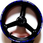 3M REFLECTIVE BLUE WHITE GP RIM STRIPES WHEEL DECALS TAPE STICKERS SUZUKI SV650S