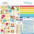 Doodlebug Essentials Page Kit 12X12 So Much Pun