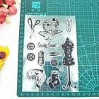 Sewing Silicone Clear Seal Stamp DIY Scrapbooking Embossing Photo Album Craft