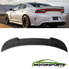 Fits 2015-2018 dodge Charger SRT8 Matte Black ABS Rear Trunk Spoiler 2016 2017