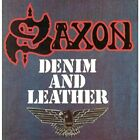 Saxon - Denim And Leather - Saxon CD X6VG The Fast Free Shipping