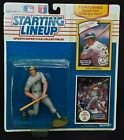 Starting Lineup Jose Canseco 1990 Action Figure NIB Rookie Year Collector Cards