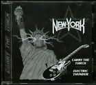 New York Carry The Torch / Electric Thunder CD new Kiss hair metal indie melodic
