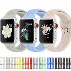 38/42/40/44/MM Silicone Sport Loop iWatch Band Strap For Apple Watch Series 4321