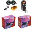 Motorcycle MP3 Usb Sd player Waterproof Radio Alarm System scooter moped small m