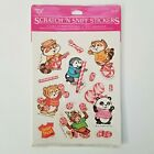 Vintage 1981 HALLMARK Shirt Tales Scratch  Sniff Stickers PEPPERMINT Pack Rare