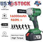 128v 10000mah Electric Cordless Impact Wrench Brushless G Un Driver Tool