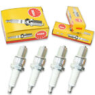 4pcs 81-83 Maico 250 NGK Standard Spark Plugs 249cc 15ci MD250 Kit Set Engin gu