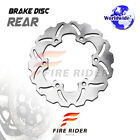 FRW 1x Rear Brake Disc Rotor For HUSABERG FX 650 E 01-05 01 02 03 04 05