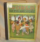 WORLD OF FUN  STORY by Francis Hodgson Burnett 1915 HC Illustrated Antique Book