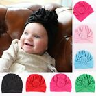 Newborn Baby Knotted Hat Boys Girls Soft Cap Infant Toddler Turban Beanie hat