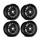 Wheel Rims 16 inch Steel Replacement Set of 4 For Golf GTI Jetta Rabbit R32