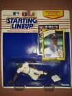 Vintage Starting Lineup Ellis Burks Rookie Of The Year 1990 Figurine Red Sox
