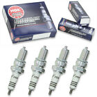 4pcs Benelli-Motobi 350 RS NGK Iridium IX Spark Plugs 350 Kit Set Engine pv