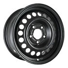 08013 Refinished Chevrolet Lumina Van 1992 1996 15 inch Black Steel Wheel
