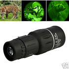 Super High Power 16X52 Portable HD OPTICS BAK4 Night Vision Monocular Telescopes