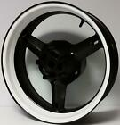 CUSTOM WHITE MOTORCYCLE INNER RIM DECALS WHEEL STICKERS STRIPES TAPE VINYL WRAP
