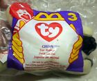 MCDONALD'S HAPPY MEAL TOY 1993 BEANIE BABY # 3 CHOPS LAMB - NEW