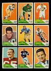LOT OF (245) ASSORTED 1960 FLEER FOOTBALL CARDS (VG - VGEX) *GMCARDS*