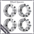 4 x 2 Wheel Spacers Adapters 5x55 1 2x20 for Ford Suzuki Dodge Jeep 63 06