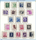 1965 Prominent Americans set of 20 stamps MNH 1278 1295